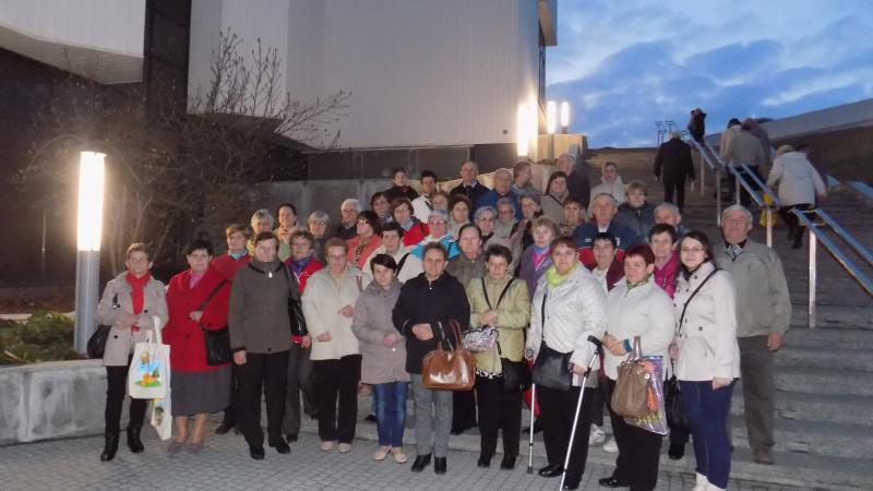 Aktywni seniorzy na targach w dniu drugim