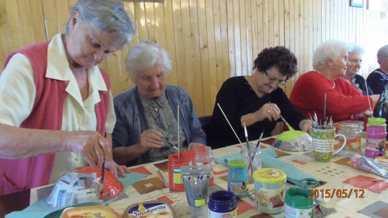 Kolejne zajęcia w klubie seniora pn. :