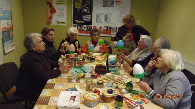 Warsztaty rękodzieła artystycznego w Krzywiniu