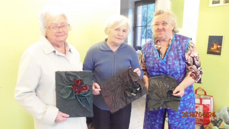 Galanteria skórzana w Klubie Seniora w Krzywiniu