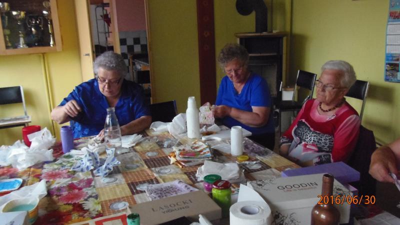 Warsztatowo w Klubie Seniora