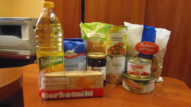 Żywność w ramach programu