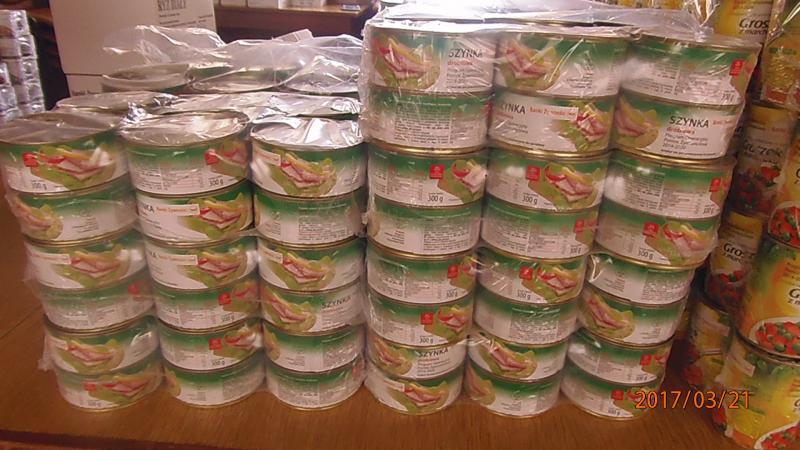 Produkty z Banku Żywności