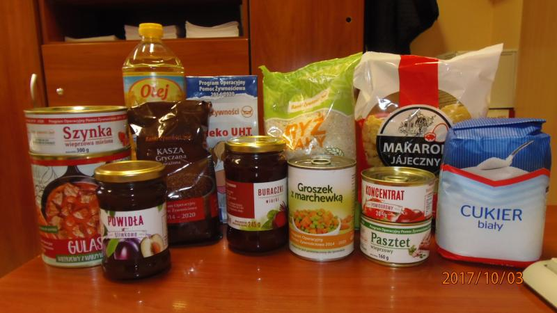 Żywność z Banku Żywności