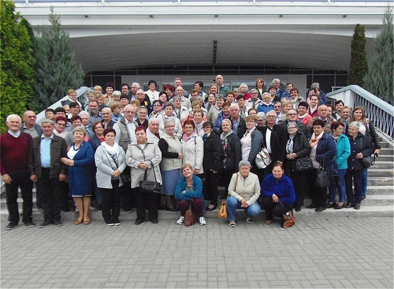 Seniorzy z Gminy Krzywiń na targach VIVA SENIORZY 2018
