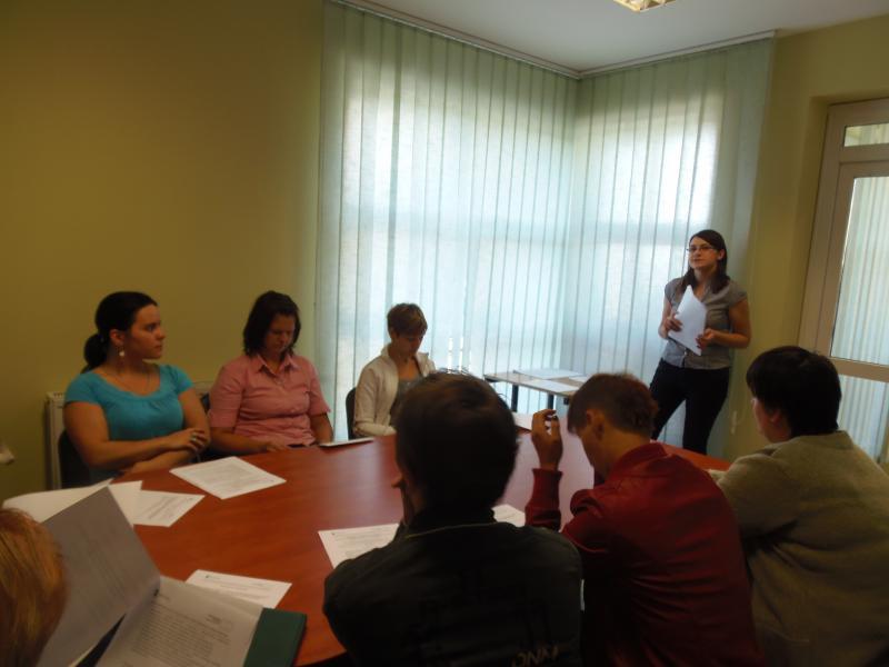 Spotkanie organizacyjne w ramach projektu pt.