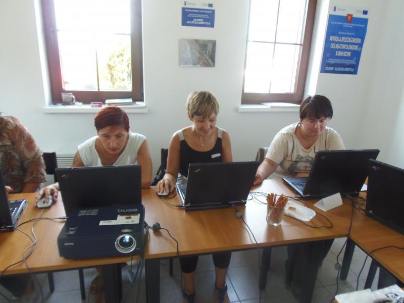 Szkolenie informatyczne i obsługa kasy fiskalnej w ramach projektu