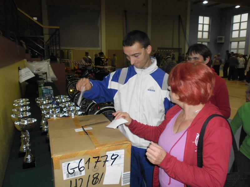 OLIMPIADA BEZ BARIER - RACOT - 27.10.2012