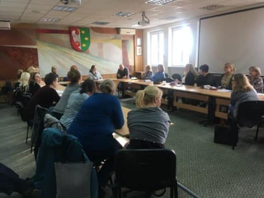 Zdjęcie przedstawiające spotkanie