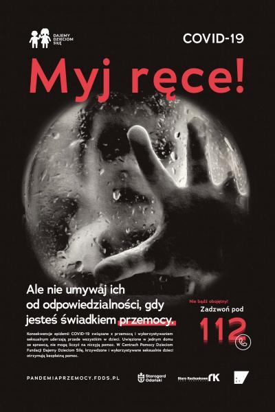 Przemoc jak wirus. Rusza nowa kampania Fundacji Dajemy Dzieciom Siłę Pandemia przemocy