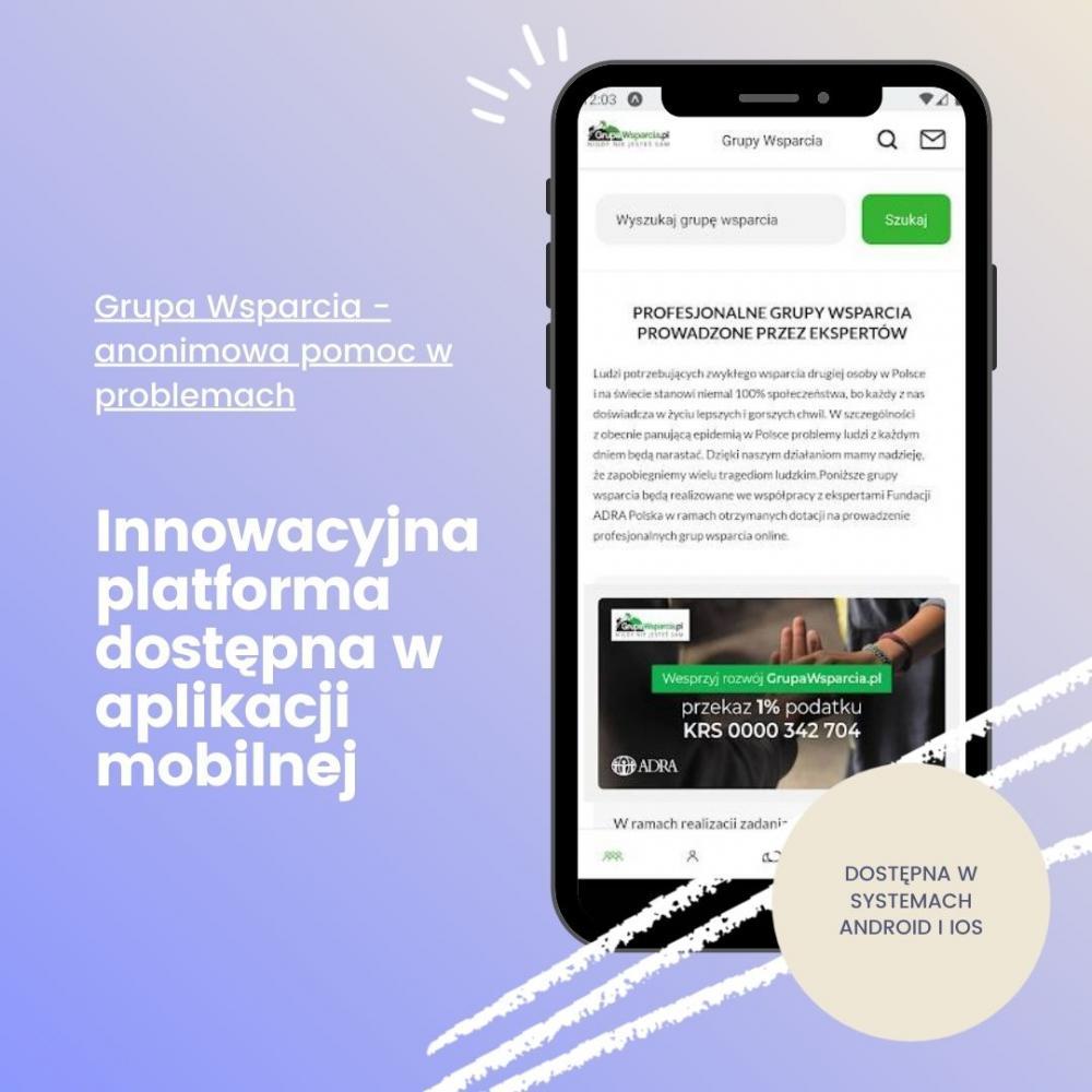 Grupa wsparcia mobile - zdjecie