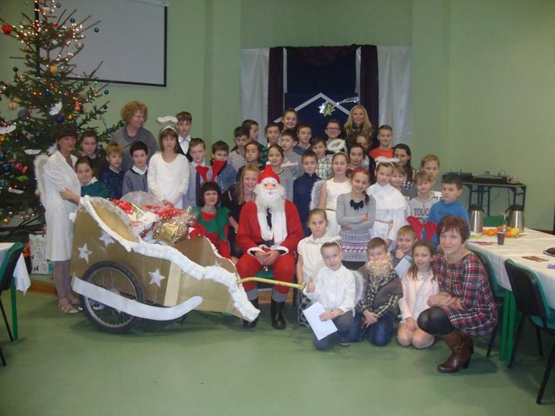 Wspaniała akcja - Qurier Świętego  Mikołaja