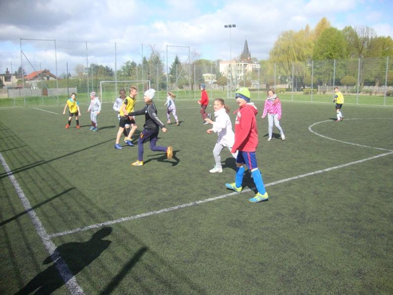 Świetlicowy turniej piłki nożnej
