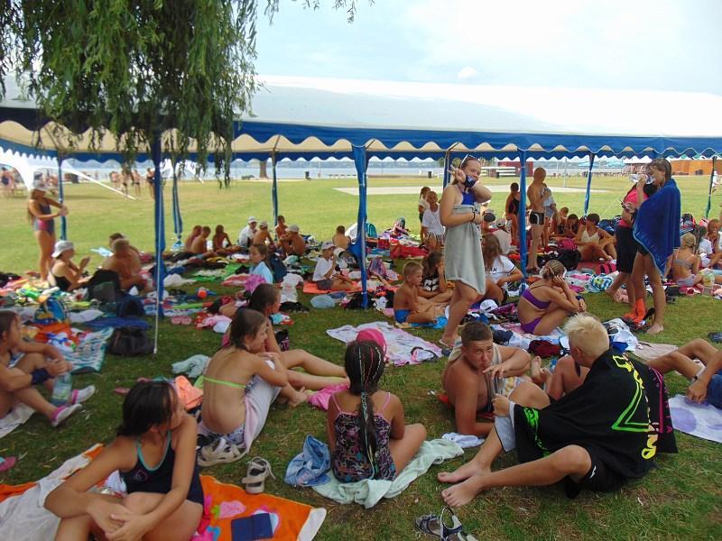 Słoneczne, zbąszyńskie plaże  czyli  kolonia dla najmłodszych