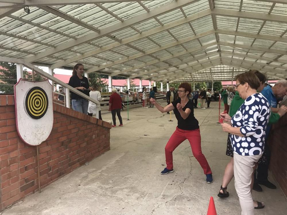 konkurencja rzut rzutkami
