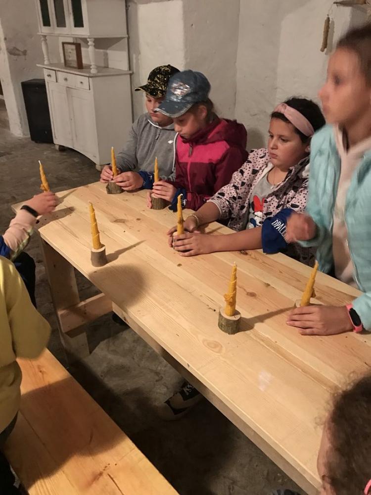 warsztaty robienia świec