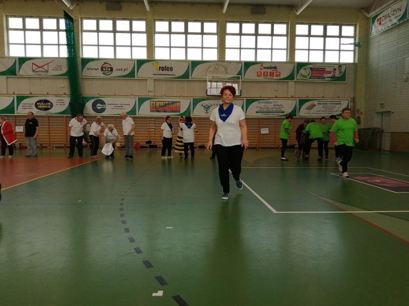 Opaleniccy seniorzy na igrzyskach w Zbąszyniu