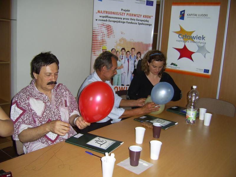 18-06-2012r. uczestnicy projektu rozpoczęli spotkania z psychologiem