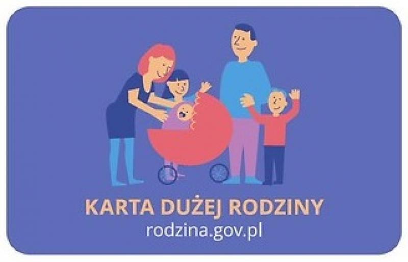 Uległ zmianie wniosek o wydanie Karty Dużej Rodziny