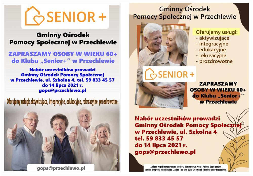 Nabór Klub Senior+