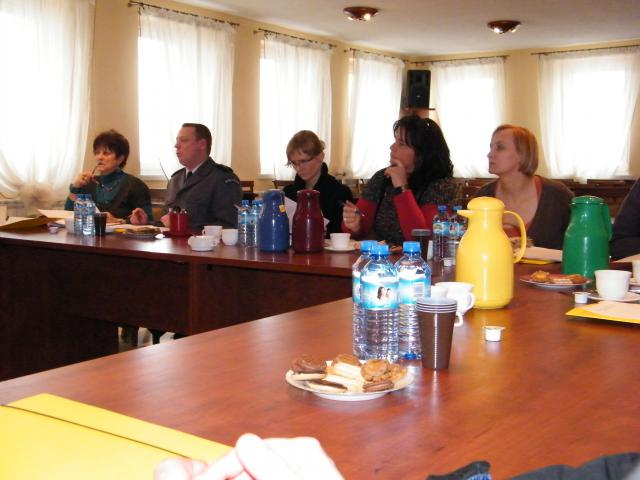 Zdjęcie z spotkania członków zespołu