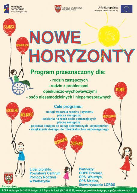 Plakat Nowe Horyzonty