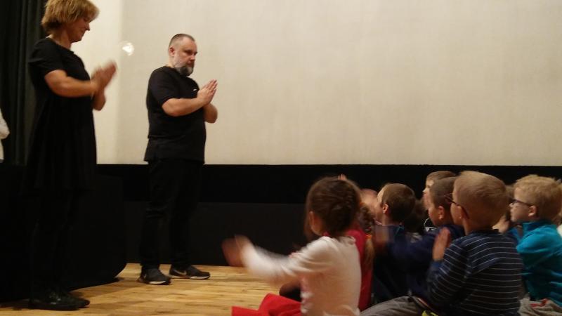 Teatr lalek z niepełnosprawnością, 2017r.