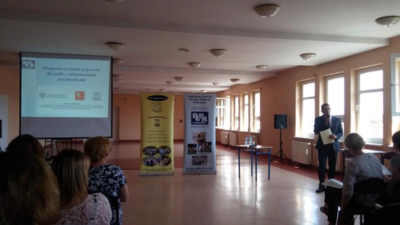 Wsparcie dla osób z zaburzeniami psychicznymi-konferencja szkoleniowa.