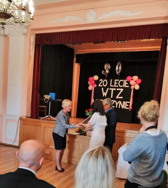 20-lecie działalności Warsztatów Terapii Zajęciowej w Rydzynie.