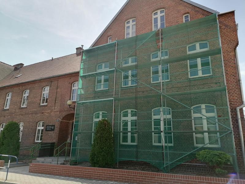 Remont budynku WTZ w Miejskiej Górce dofinansuje PFRON.