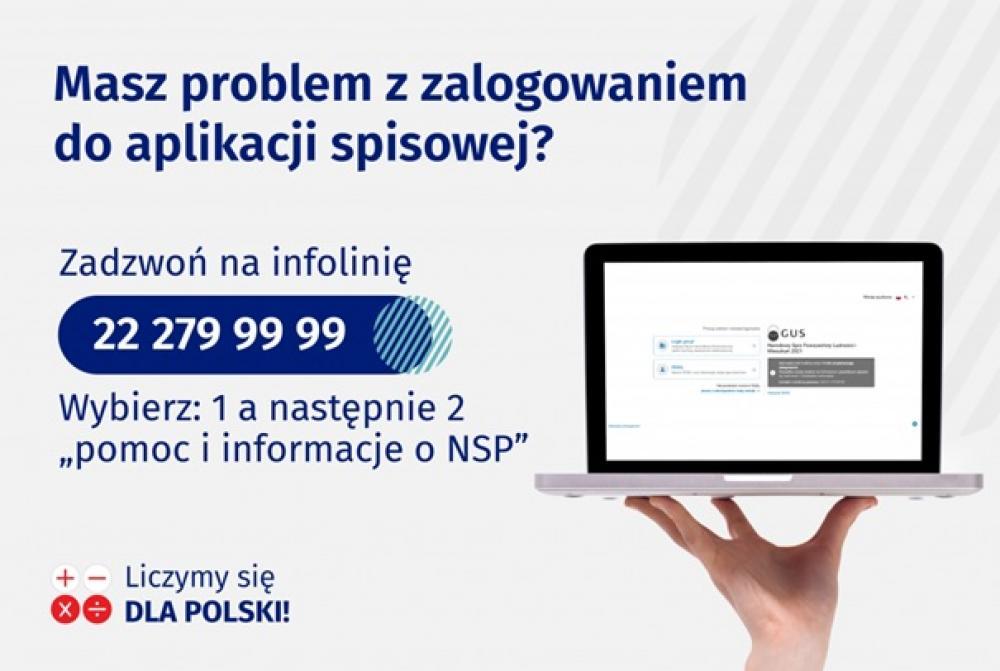 Aplikacja spisowa - Narodowy Spis Powszechny 2021