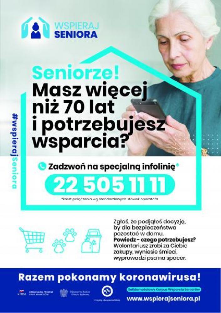 wspieraj seniora - plakat 1