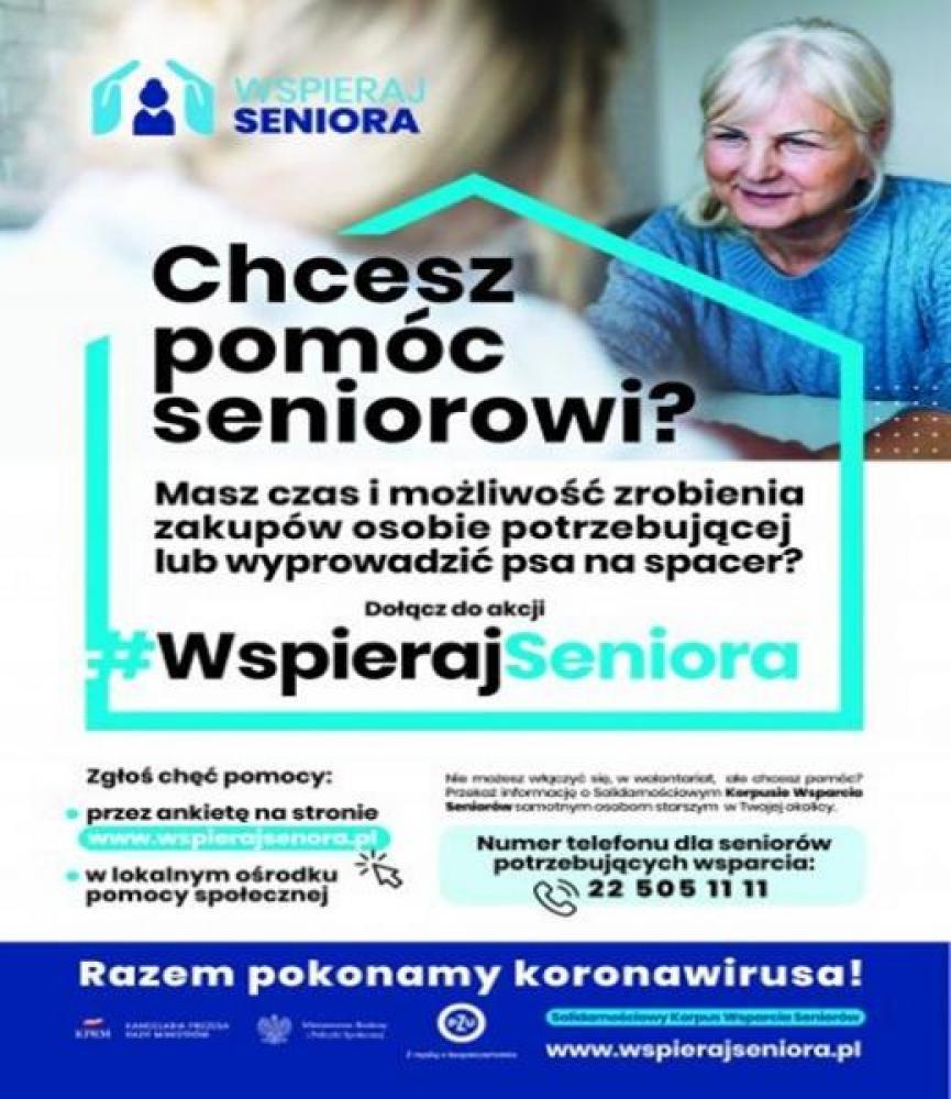 wspieraj seniora - plakat 2