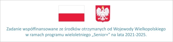 Logo flaga i herb PL, senior plus