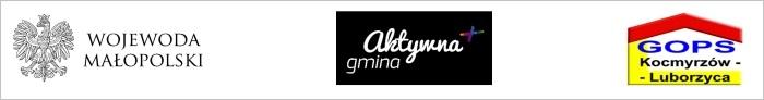 logo wojewoda malopolski aktywna gmina gops kocmyrzow-luborzyca