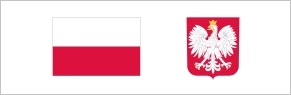 Logo flaga i herb PL